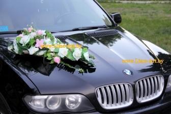 Украшение машин на свадьбу в Гомеле